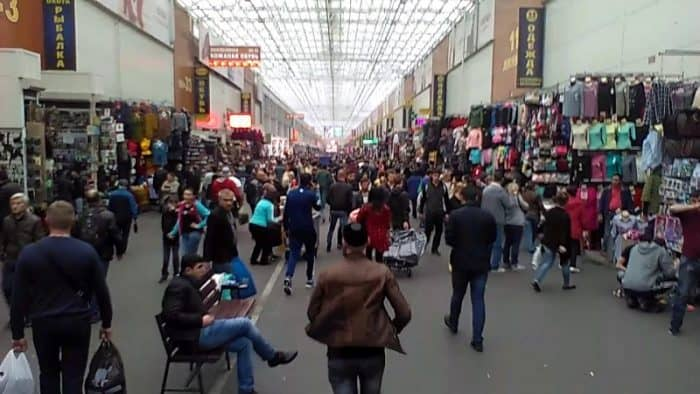 Покупки в Москве