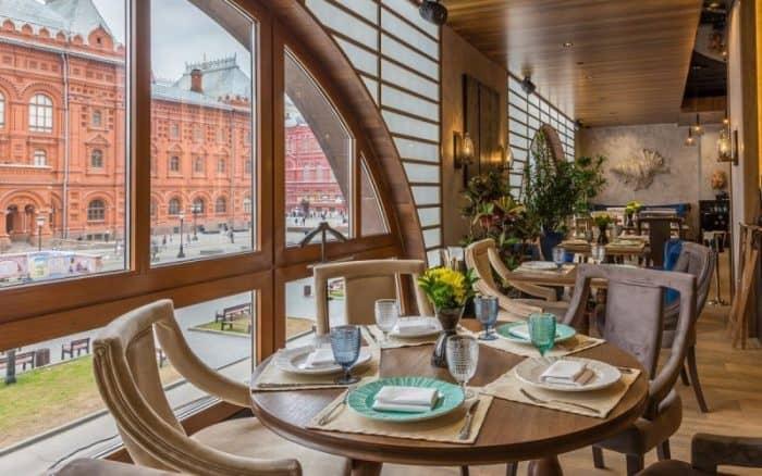 Рестораны Москвы