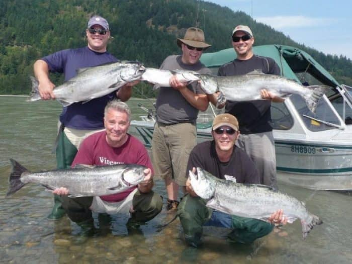 Рыбалка на озере Фрейзер