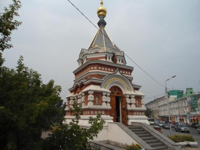 Серафимо-Алексеевская часовня
