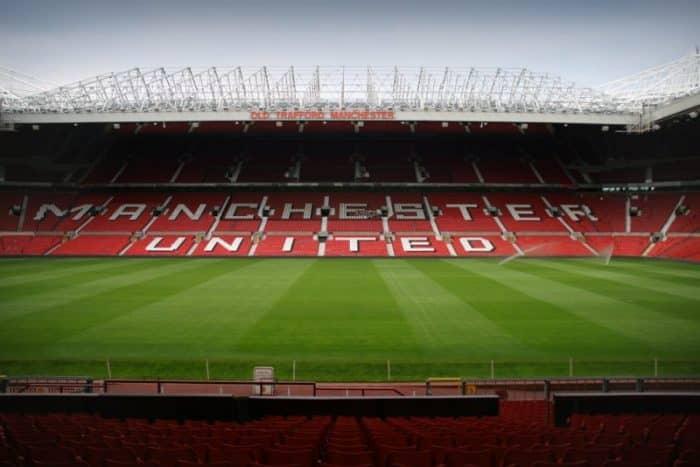 Old Trafford Stadium, inside