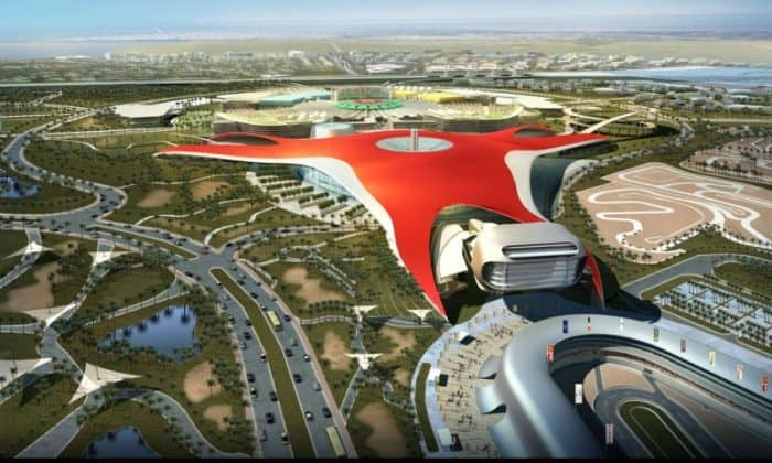 Тематический парк «Ferrari World»