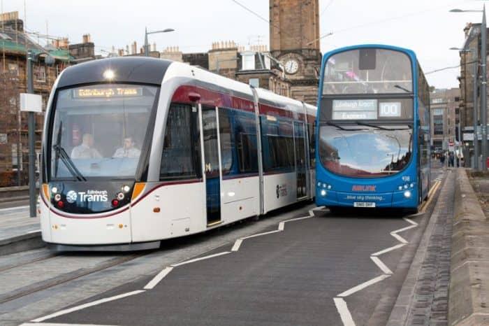 Транспорт Эдинбурга