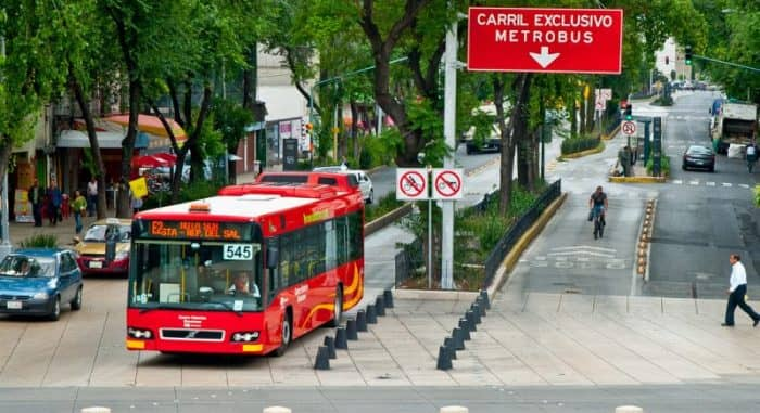 Транспорт Мехико