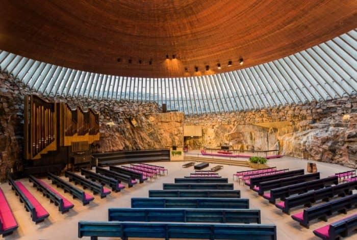 Церковь скала