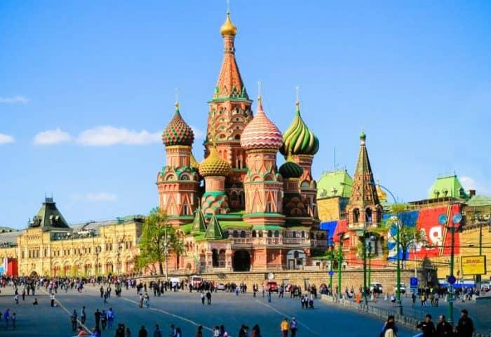 Туристический город Москва