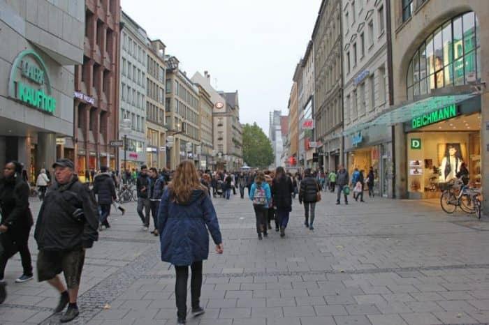 Улица Кауфингерштрассе