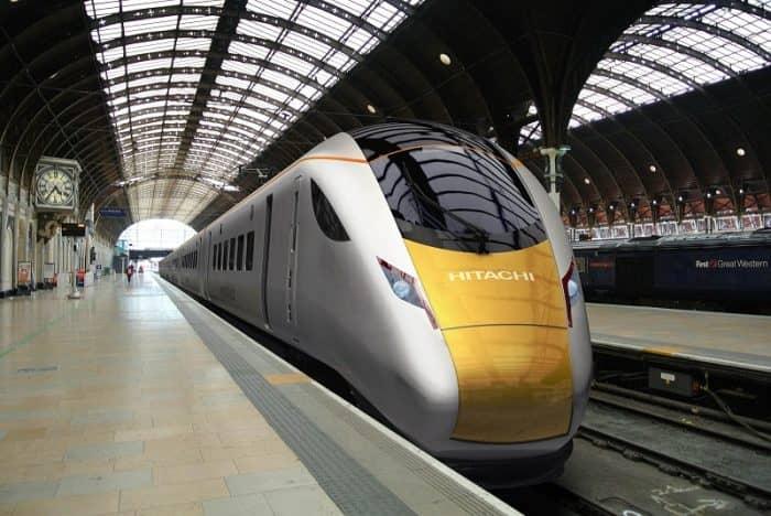 Hitachi Super Express Train for IEP