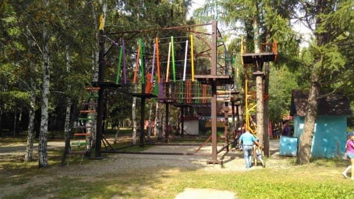 «Веревочный» парк
