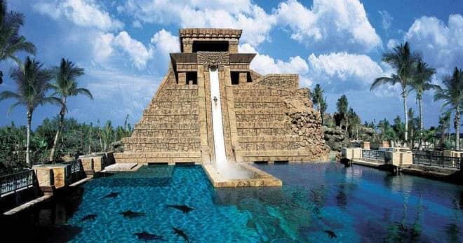 Аквапарк Aquaventure на Багамах