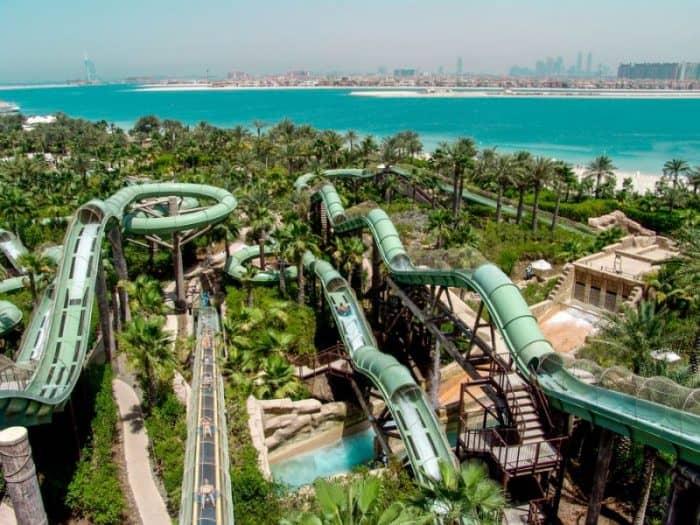 Аквапарк Aquaventure на Багамах1