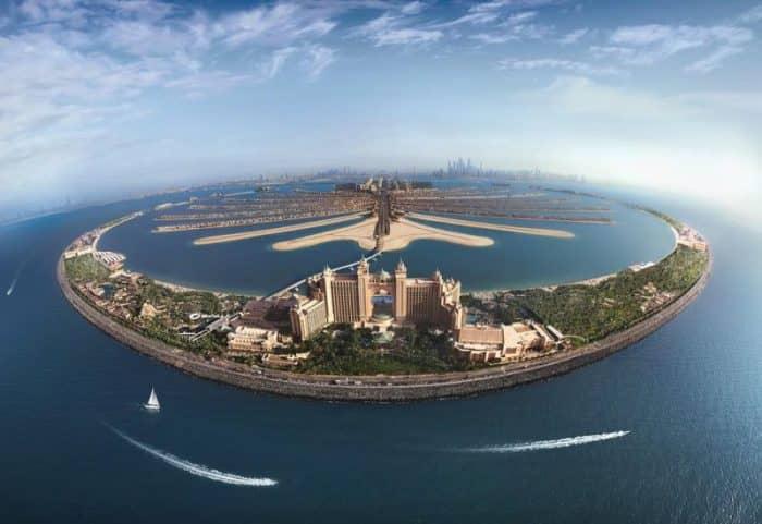 Atlantis, остров Пальм-Джумейра, Дубай, ОАЭ
