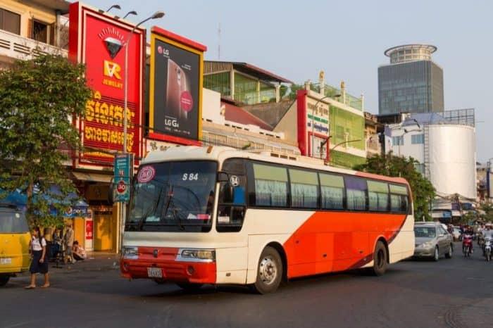 Автобусы Пномпеня