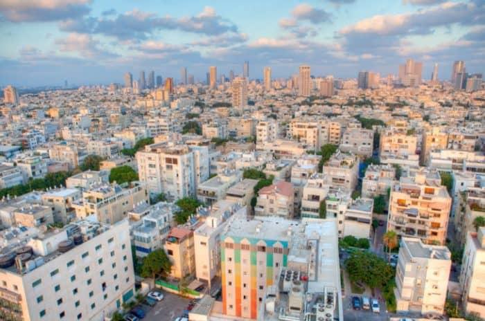 Белый город Тель-Авива