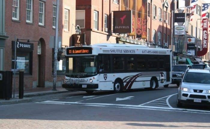 Бостон транспорт