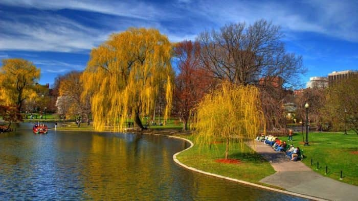 Бостонский парк