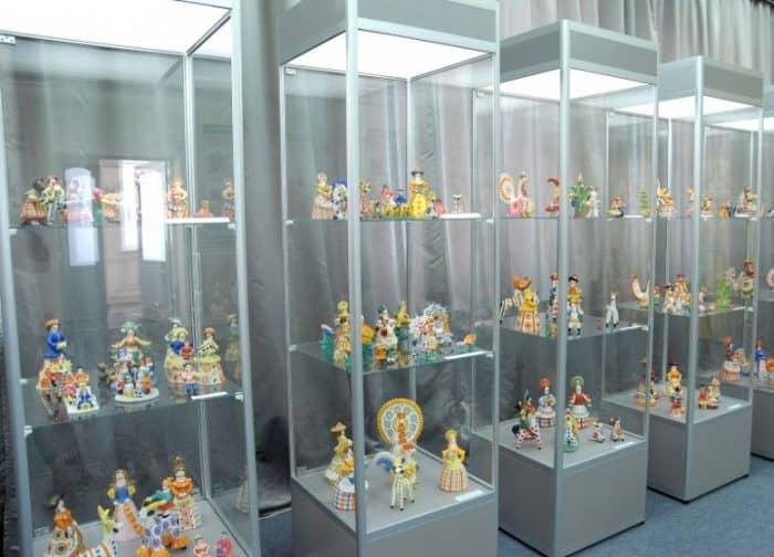 Коллекция музея Дымковской игрушки