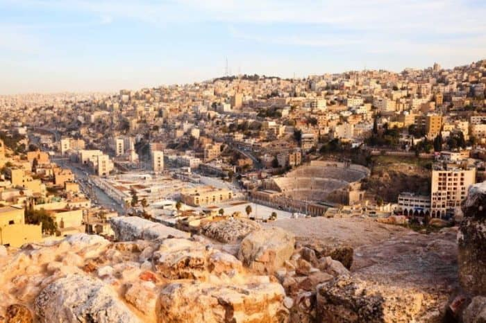 Курортный город Амман