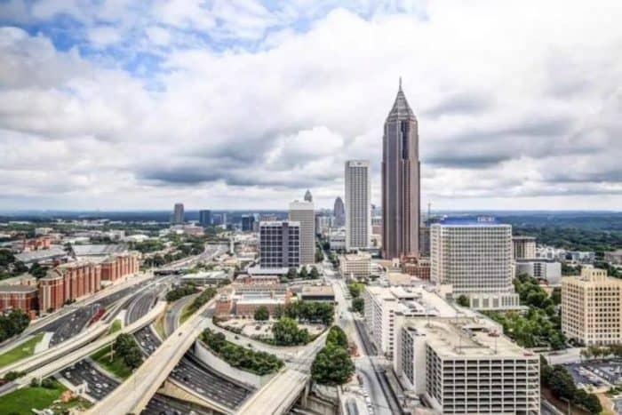 Курортный город Атланта