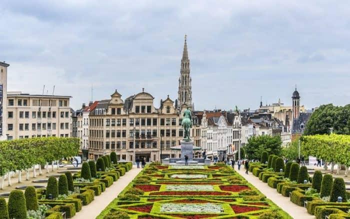 Курортный город Брюссель