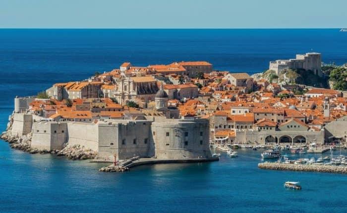 Курортный город Дубровник