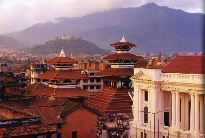 Курортный город Катманду