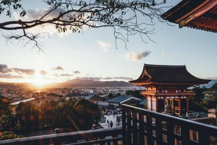 Курортный город Киото