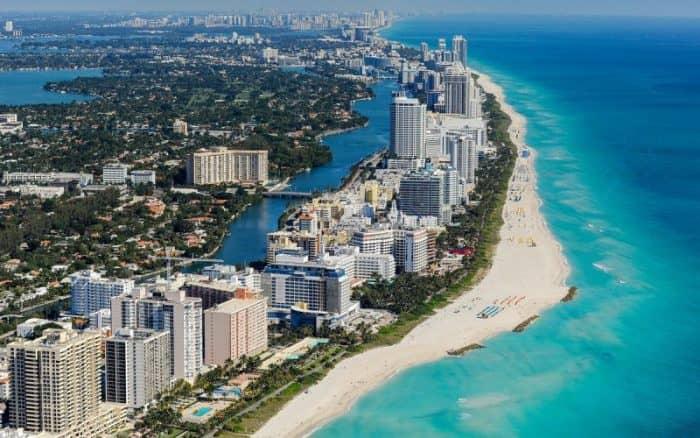 Курортный город Майами