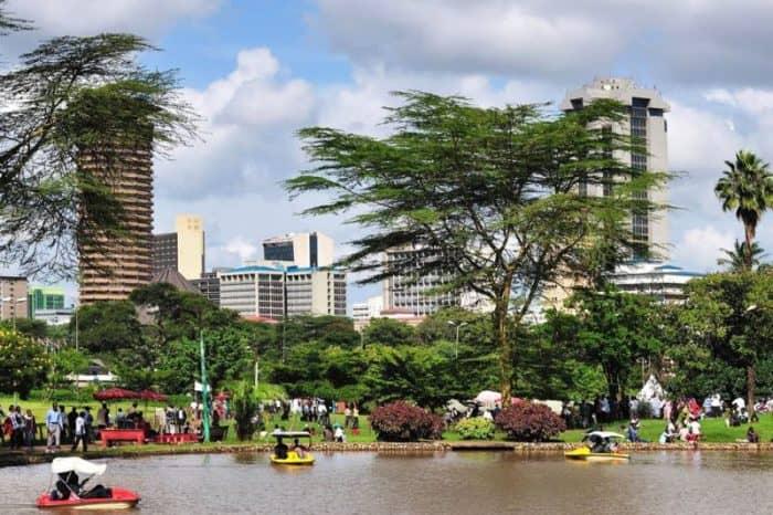 Курортный город Найроби
