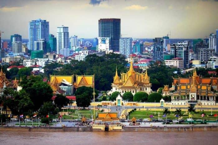 Курортный город Пномпень