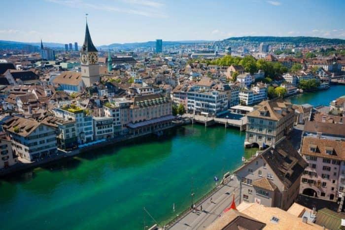 Курортный город Цюрих