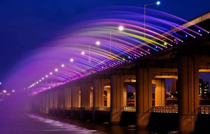 Мост «Фонтан радуги»