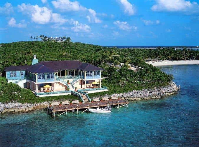 Остров Musha Cay, Багамы
