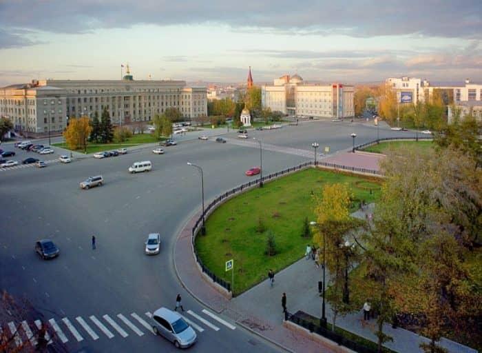 Площадь графа Сперанского