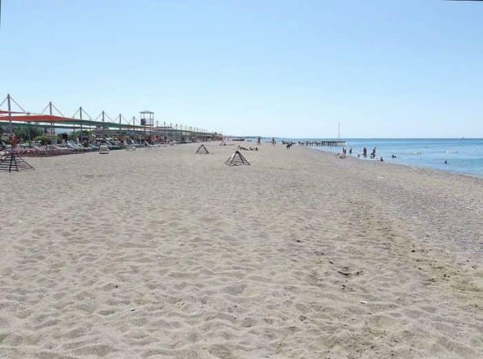 Пляж Кизилот
