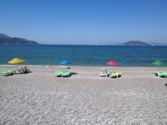 пляж Текировы