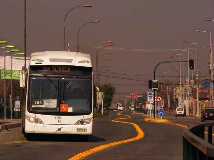 Сантьяго общественный транспорт