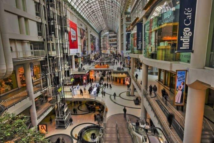 Шоппинг в Торонто