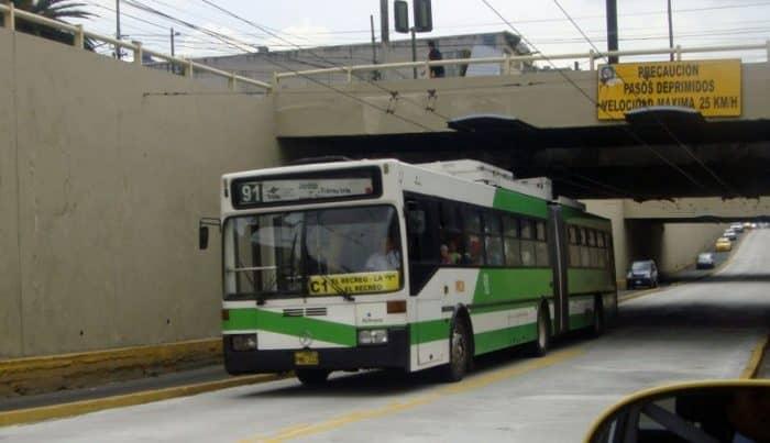 Транспорт в Кито