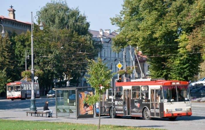 Вильнюс транспорт